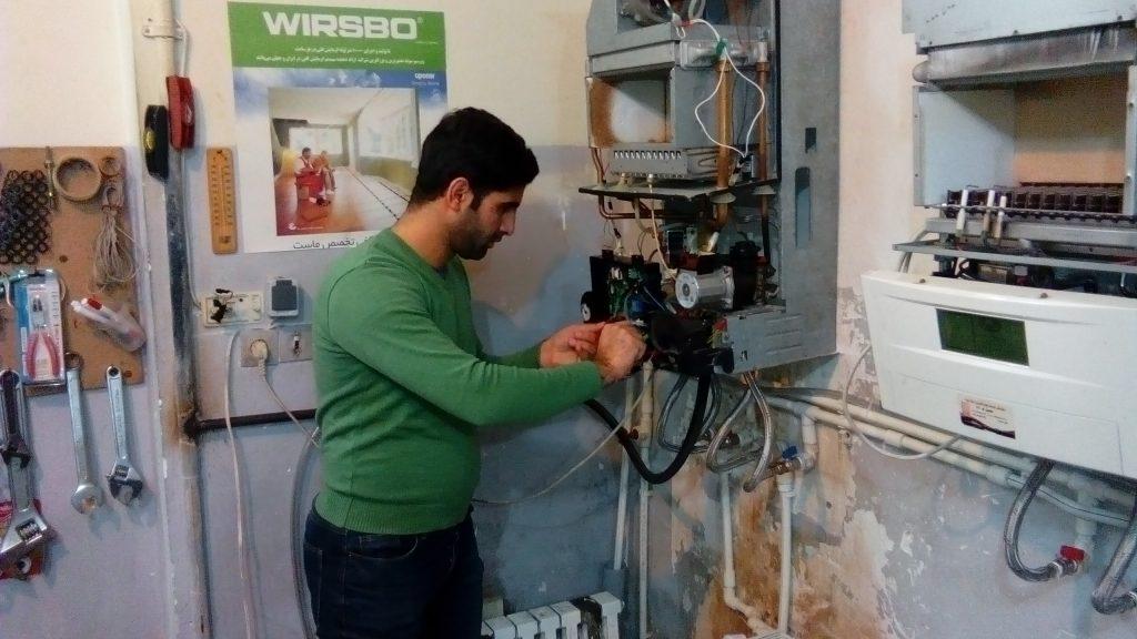 آموزش تعمیرات پکیج در تبریز